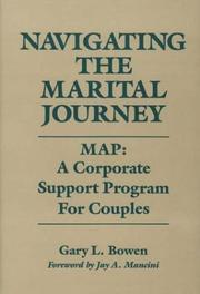 Cover of: Navigating the marital journey