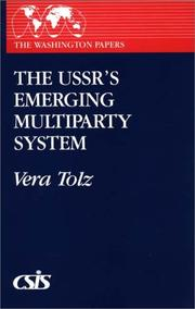 Cover of: The USSR's emerging multiparty system