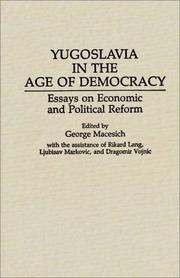 Yugoslavia in the Age of Democracy