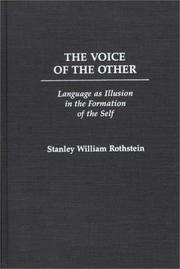 Cover of: The voice of the other