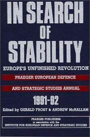 Cover of: In Search of Stability |