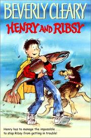Cover of: Henry and Ribsy