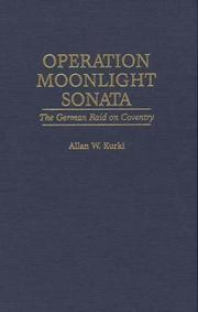 Cover of: Operation Moonlight Sonata