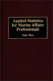 Cover of: Applied statistics for marine affairs professionals