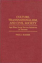 Cover of: Culture, transnationalism, and civil society