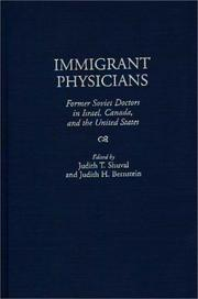 Cover of: Immigrant Physicians |