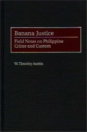 Cover of: Banana justice