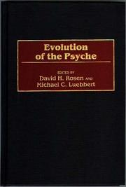 Cover of: Evolution of the psyche