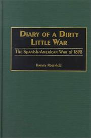 Cover of: Diary of a dirty little war