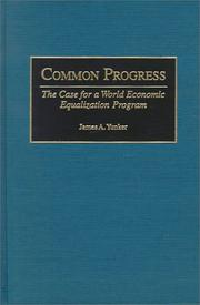 Cover of: Common Progress