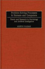 Cover of: Problem-solving processes in humans and computers