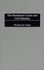 Cover of: The Eisenhower Court and civil liberties