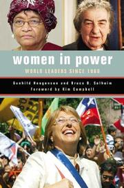 Cover of: Women in Power by Gunhild Hoogensen, Bruce O. Solheim