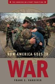 Cover of: How America goes to war
