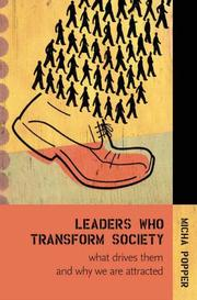 Cover of: Leaders Who Transform Society: