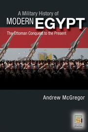 Cover of: A Military History of Modern Egypt