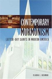 Cover of: Contemporary Mormonism