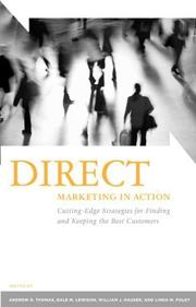 Cover of: Direct Marketing in Action |