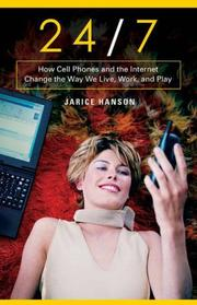 Cover of: 24/7 | Jarice Hanson