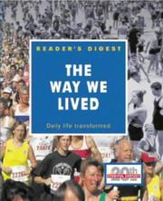 Cover of: The Way We Lived (Eventful Century) | Reader's Digest