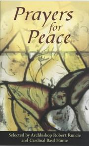 Cover of: Prayers for Peace |