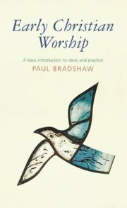 Cover of: Early Christian Worship
