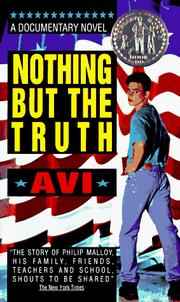 Cover of: Nothing But The Truth | Avi, Avi