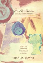 Cover of: Invitations - God