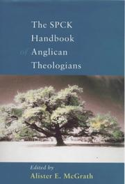 Cover of: The SPCK handbook of Anglican theologians