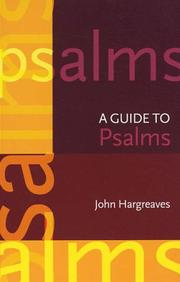 A Guide to the Psalms (Spck International Study Guide)
