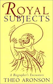 Cover of: Royal subjects