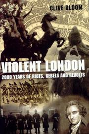 Cover of: Violent London