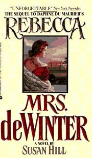 Cover of: Mrs. Dewinter | Susan Hill Long, Hill, Susan