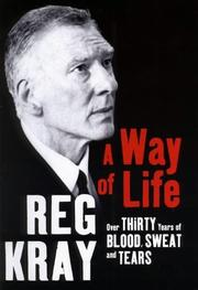 Cover of: A way of life