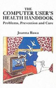 Cover of: The Computer User's Health Handbook