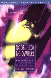 Cover of: Nobody Nowhere | Donna Williams