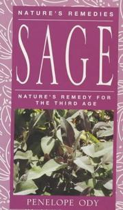 Cover of: Sage (Nature's Remedies)