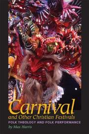 Cover of: Carnival and Other Christian Festivals