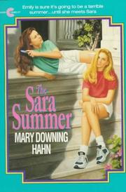Cover of: The Sara Summer | Mary Downing Hahn