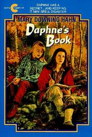 Cover of: Daphne
