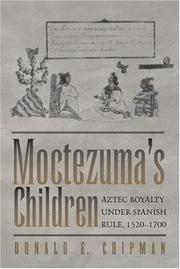 Cover of: Moctezuma's children