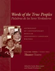 Cover of: Words of the true peoples