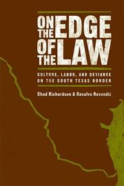 Cover of: On the edge of the law