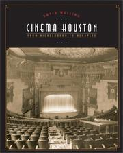 Cover of: Cinema Houston | David Welling