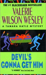 Cover of: Devil's Gonna Get Him (Tamara Hayle Mystery) | Valerie W. Wesley