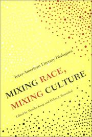 Cover of: Mixing Race, Mixing Culture |