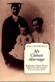 Cover of: Mae Franking's My Chinese Marriage