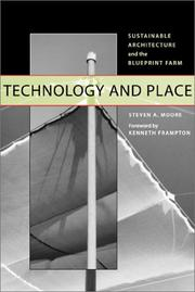Cover of: Technology and Place