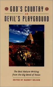 Cover of: God's Country or Devil's Playground