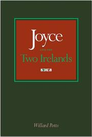 Cover of: Joyce and the two Irelands | Willard Potts